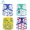 Happy flute reusable Baby Nappie AIO Diaper Washable Cloth Diapers
