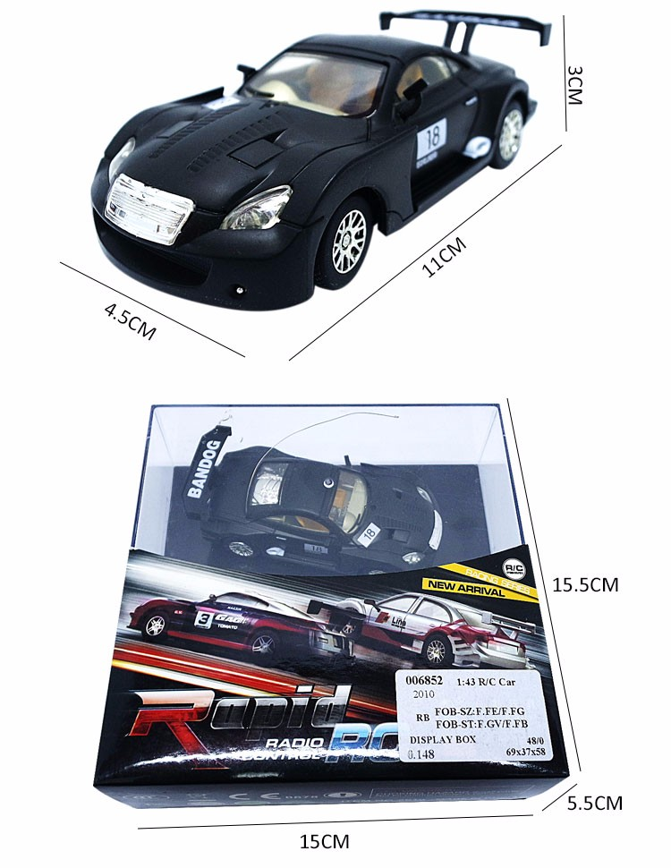 Best Selling 1:43 Electric Car Toys
