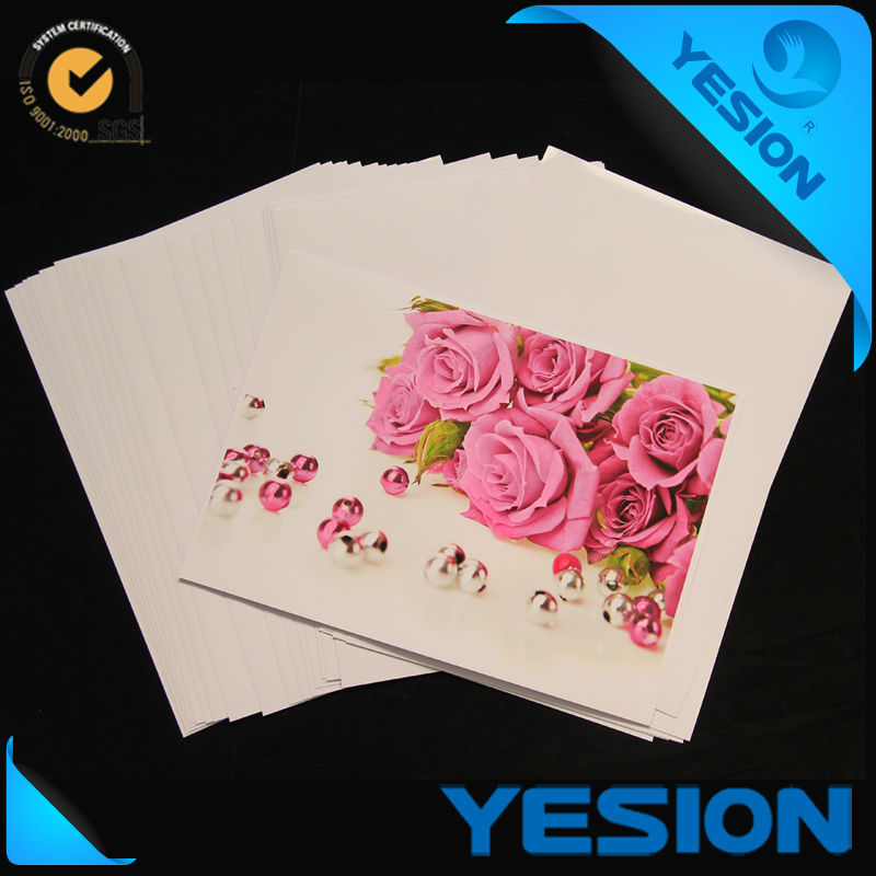 Glossy inkjet printing Double sided glossy inkjet wholesale photo paper 140g 160g 180g A3 A4
