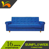 Hot sell home furniture low price sofa set traditional storage sofa bed design
