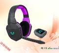 Hot sell wireless gaming headset headphone for ps4 PS3 xbox one xbox 360 Game consoles PC with mic