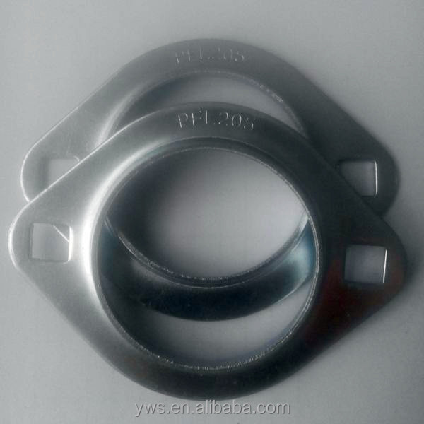 2 bolt stamped flange SBPFL205 press steel pillow blcok bearing