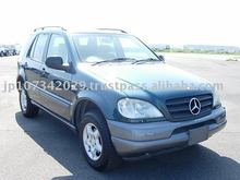 Used Mercedes Benz ML320 car Japanese used cars