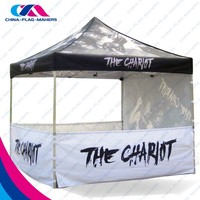 high quality outdoor exhibition advertise portable print tent