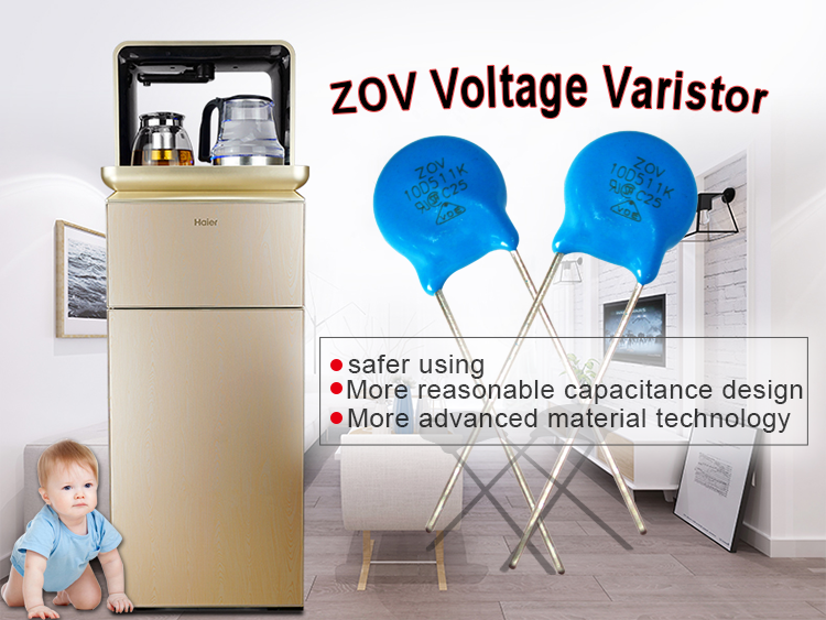 ZOV high voltage varistor myg chip resistor 10D 220K for wholesale price