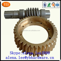 steel/brass motorcycle worm gear mechanism,worm gear and rack ISO9001 Passed
