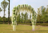 110cm wisteria flower for hanging wall and wedding