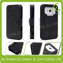 Hot Selling Cheap Custom Universal PU Leather Silicon Phone Case
