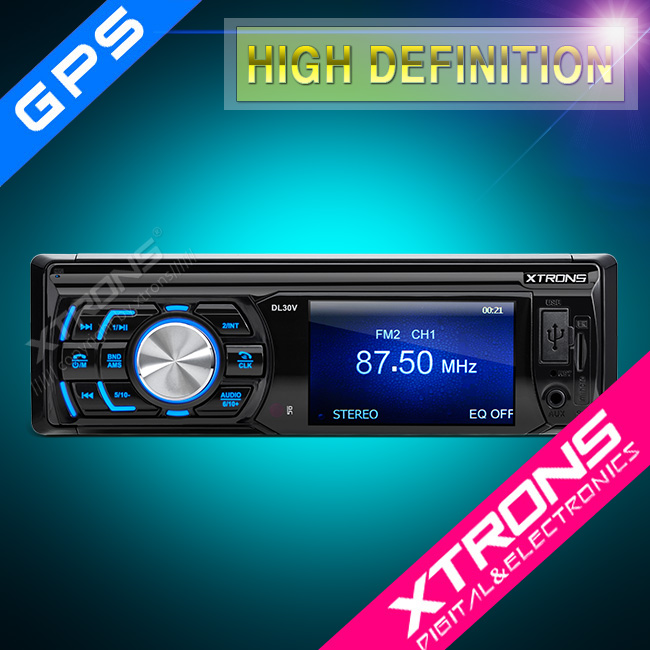 "DL30V:Xtrons 3"" HD TFT 1 Din car radio Touch screen"