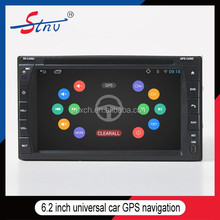 2 Din Android 6.2 Inch Car DVD Player With GPS/WIFI/RADIO/SWC/3G/BT