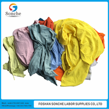 industrial cleaning mix color 100% cotton rags price