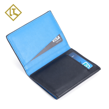 2019 Hot Luxury Wallet Men Slim Card wallet RFID card holder genuine travel leather wallet