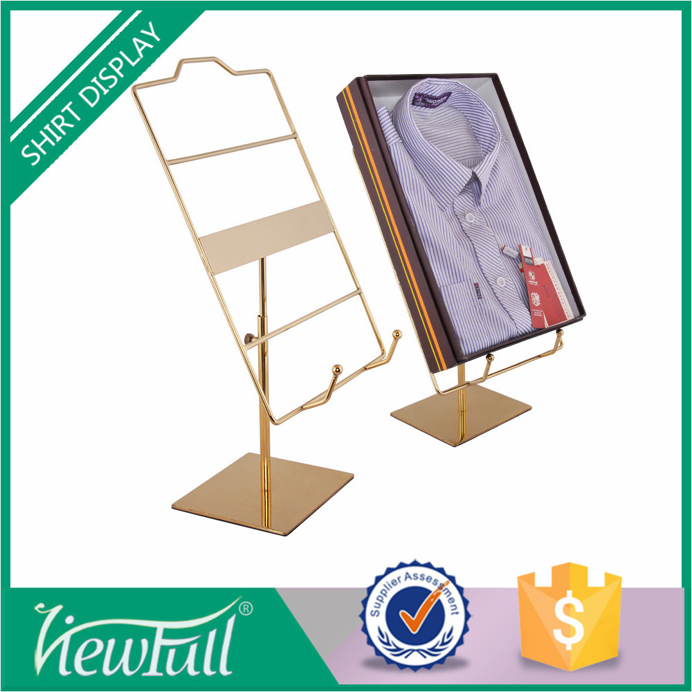 Minimalist design EVA mat display stand for t shirts