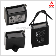 CBB61 250v 2uf wire ac ceiling fan capacitor