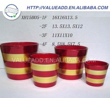 High quality ceramic decorate flower pots from china