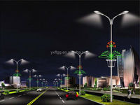 highway lighting galvanized pole or terrace garden light poles
