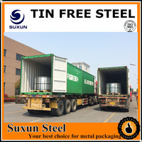 Electrolytic Tinplate Tin Free Steel Cold Rolled Hot Rolled Tin Mill Black Plate