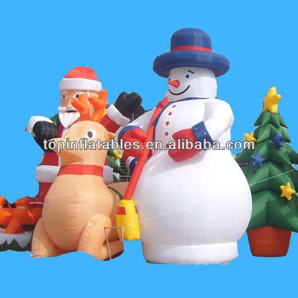 Christmas decoration inflatable christmas cartoons