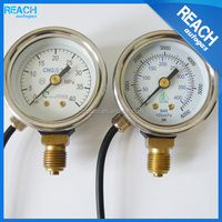 cng lpg bourdon tube pressure gauge for auto gas fuel system