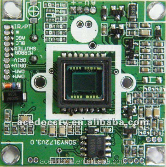 540TVL Color (CCD) SONY HQ1 HD camera module