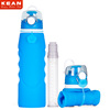 New Arrival Collapsible Bpa Free Silicone Filter Water Bottle