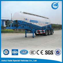 Tri-axle bulk cement truck powder tank semi trailer
