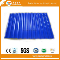 Corrugated steel sheet, color galvanized steel corrugated plate
