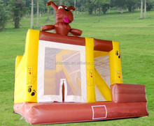 Lovely Dog inflatable bouncer house for kids inflatable jumping castle
