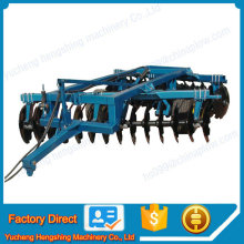 Rotary Harrow and horrows adjusting farm tractor plow