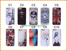 UV Colorful Printing Customized PC Phone Case Cover for iphone 6/plus, color print cover