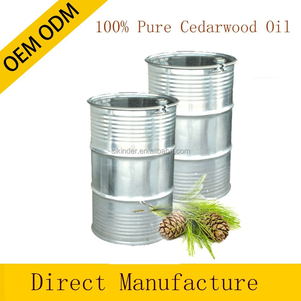 oil of cedarwood, CAS 8000-27-9, cedarwood essential oil manufacturers 180kg bulk private label