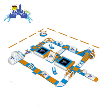 Commercial Water sport games giant inflatable floating water park with low price