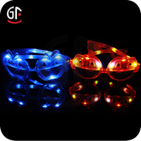 Halloween Decoration Hight Quality Cool Funny Pumpkin Shaped Led Glow Glasses