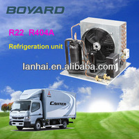 R404a RoHS Lanhai ac r22 3 ton condensing unit for freezing room