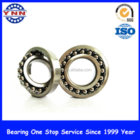 High precision low noise self aligning ball bearing 1217