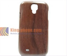 Hard phone case walnut wood back cover for samsung galaxy s4 accept engraving logo