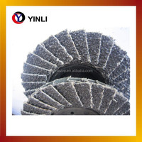 high quality 100mm 150mm silicon carbide abrasive flap disc for glass polishing and grinding