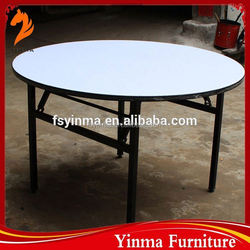2015 Low price used banquet foldable table