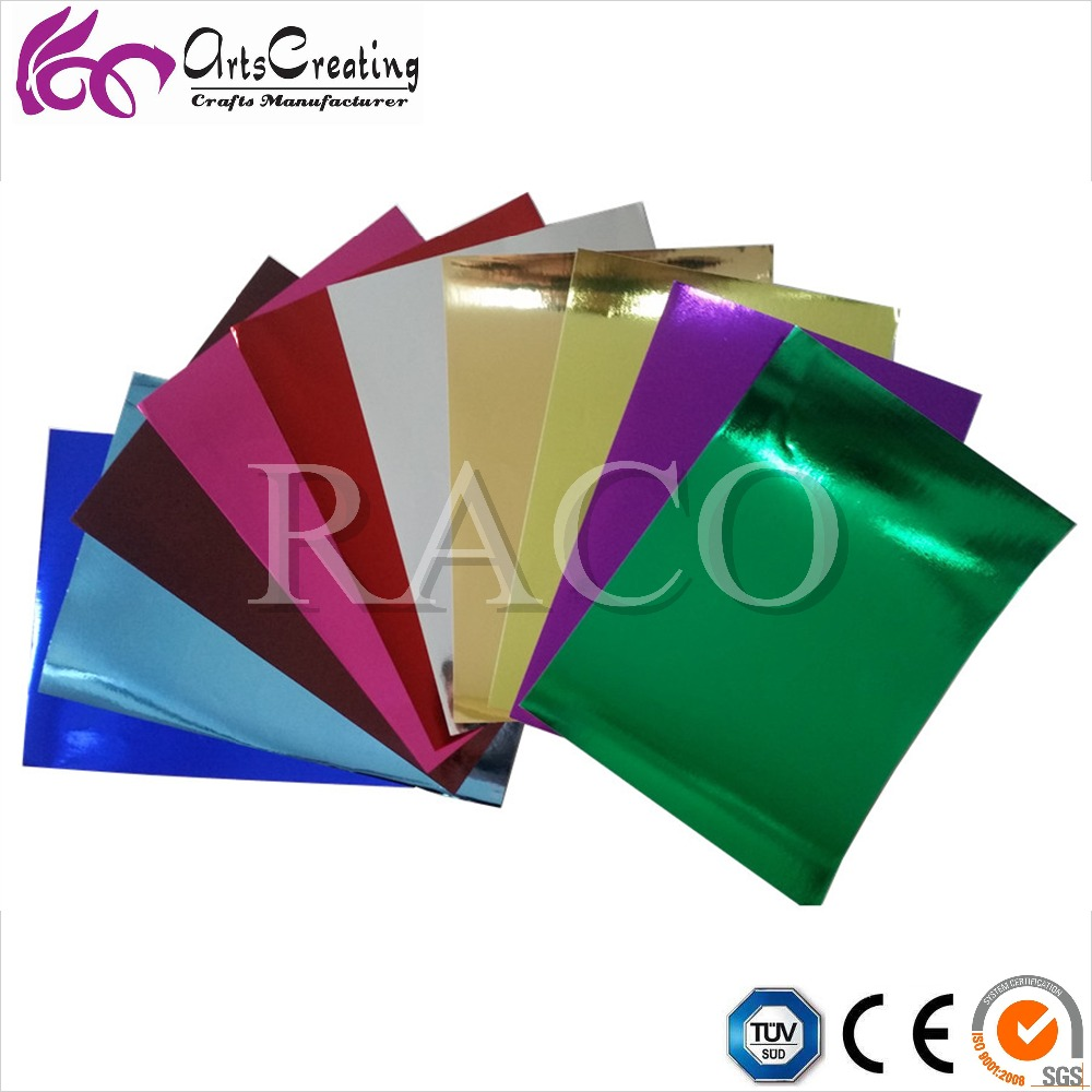 wholesale metallic Cardstock Paper for Scrapbook Wrapping Decoration Crafts card