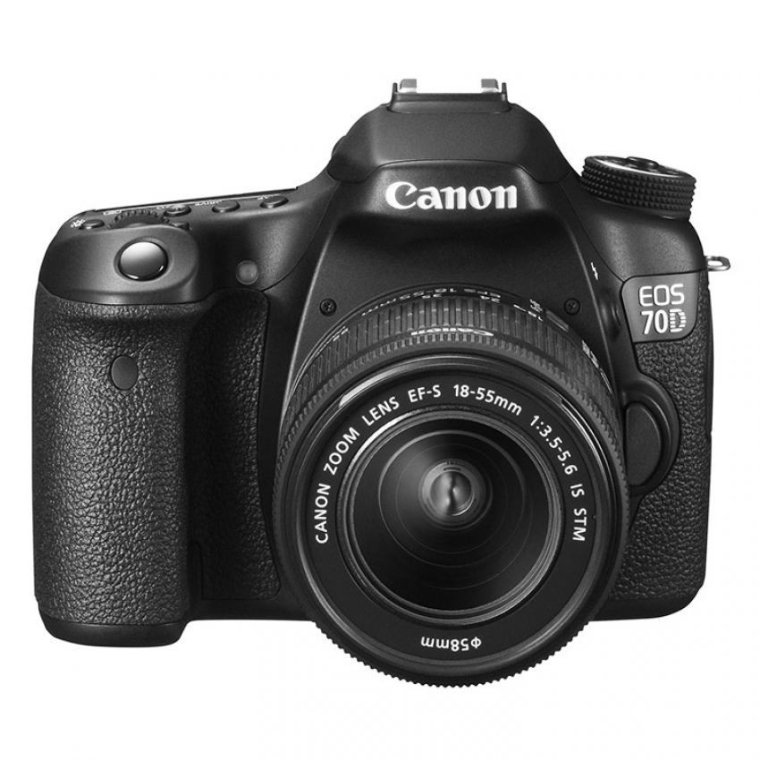 Canon EOS 70D with 18-55mm STM + 18-55mm IS II + 50mm f1.8 Lens Kit