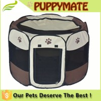 Cute Durable Pet Tent/dog pen/Dog Cage with Strong Steel Frame Lightweight and Portable