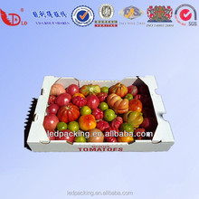 Fresh and Green Vegetables package corrugated boxs