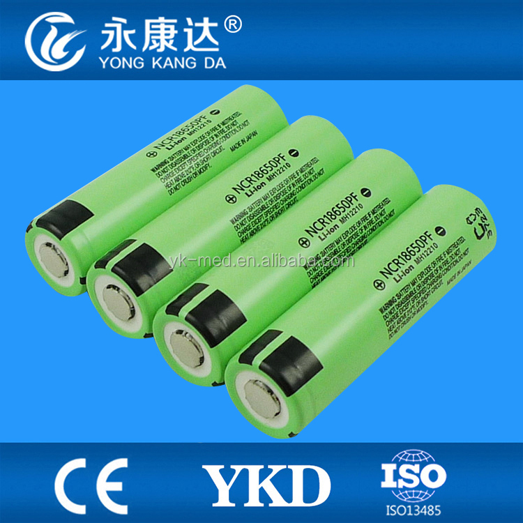 Lithium ion 18650 battery for Panasonic NCR18650BE battery 2900mAh cell