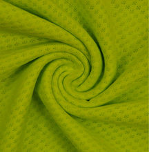knitted Polyester Bird Eye Mesh fabric for lady dress / garment