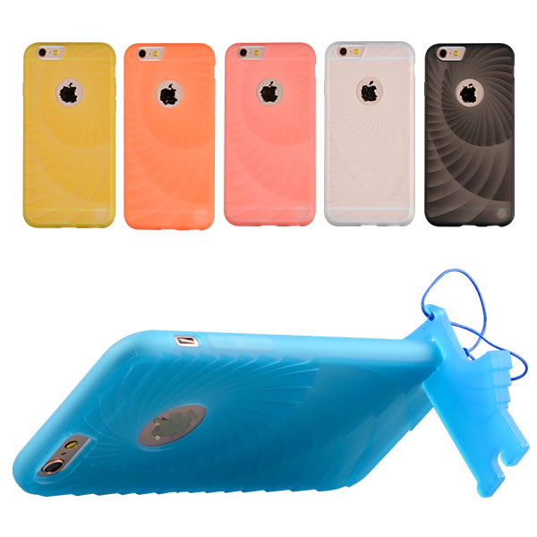 C&T Colorful Flexible Soft Wave Soft TPU Slim Cover Protective Skin Case for iPhone 6S/6 4.7 inch Case