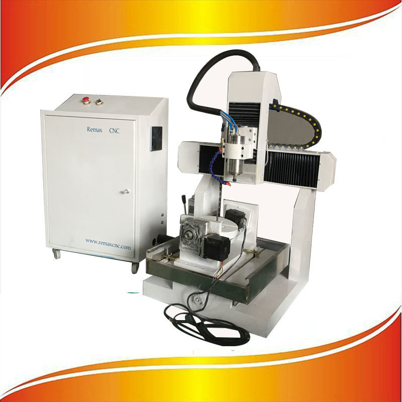 Remax-3040 mini cnc 5 axis router cutting machine center with CE certificate