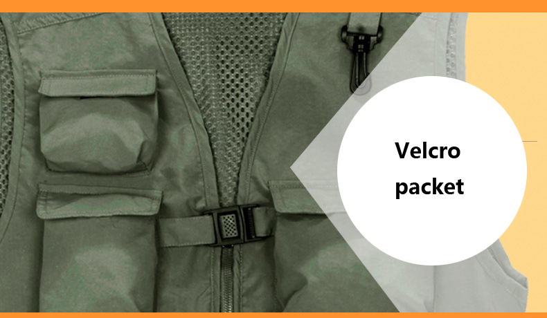 Tactical vest multi-pockets outdoor work vest