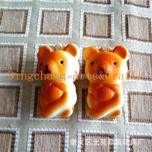 Resin Material and Figurine Product Type Cute bear Cover Mouth With Hands