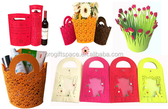 2017 alibaba china suppliers best selling new products eco friendly durable bag felt cheap handbag brands made in china