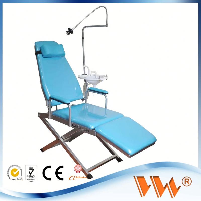 foldable portable mobile dental chair very popular baggage portable dental unit